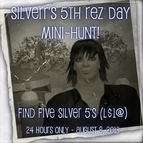 Silverr's 5th-Rez-Day Mini-Hunt!