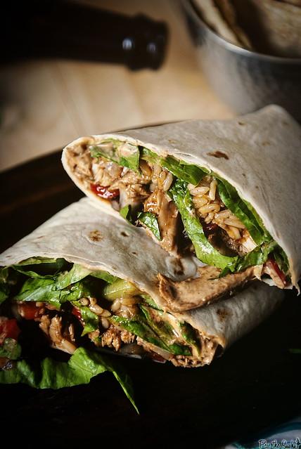 Down and Dirty Weeknight Turkey Burritos