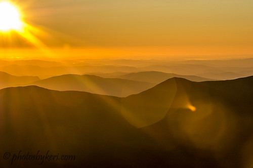 Sun Over The Peaks by KAM918