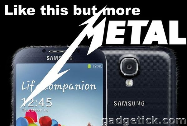 Выход Samsung Galaxy S5 в металле