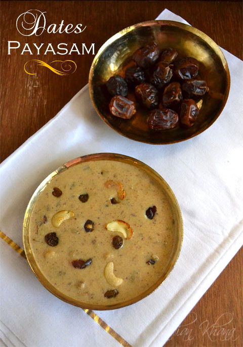 Dates Payasam (Kheer) | Onam Sadya Recipes