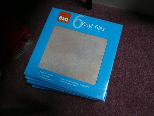 Self-Adhesive tiles