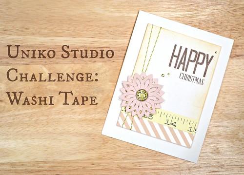 Uniko Challenge Washi Tape