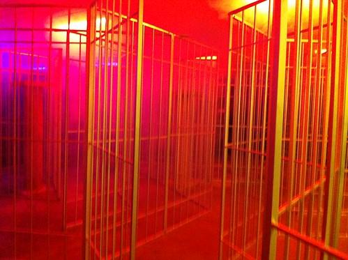 Cage maze in Mummy's Treasure Maze