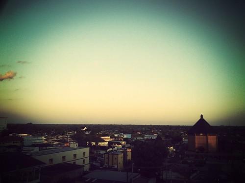 Vista da cidade no Morro da Glória