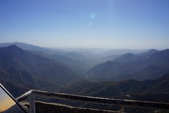 View looking west into San Joanquin Valley from Moro Rock