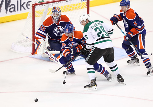 NHL Hockey: Sep 27 Oilers vs Stars
