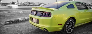 "A V8 Muscle Car that's ""Green"""