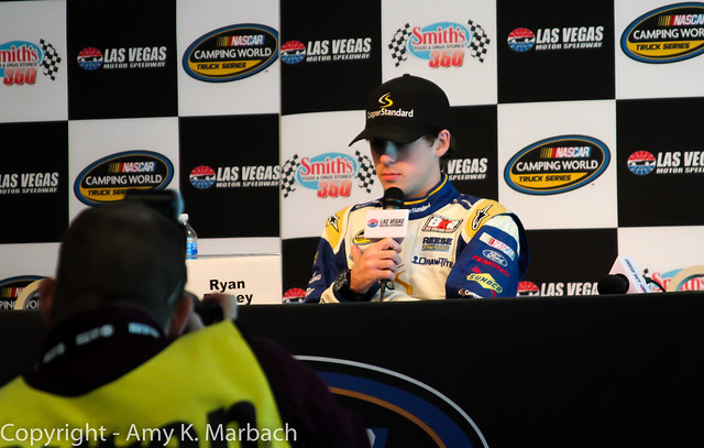 Ryan Blaney does his pre-race media presser