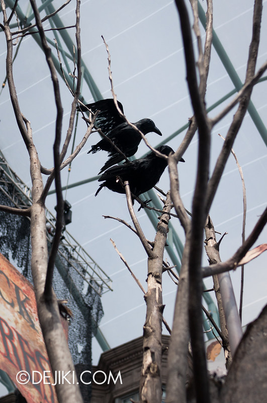 HHN3 Before Dark 2 - Attack of the Vampires - Ravens
