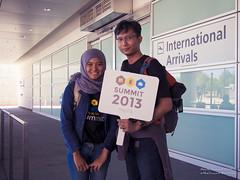 me & @eriskatp at San Jose Airport