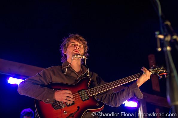 伍兹@ Woodsist音乐节,Pappy和Harriet's,加利福尼亚Pioneertown,2013年9月28日