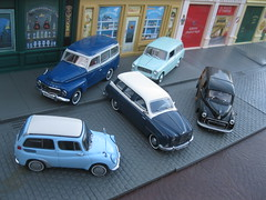 1950s & 1960s Estate Cars - Subaru 360 Custom, Volvo 210 Duett, Lancia Appia Giardinetta Viotti, SAAB 95 & Morris Minor 1000 Traveller