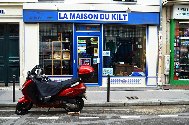 Maison du Kilt, Paris, France