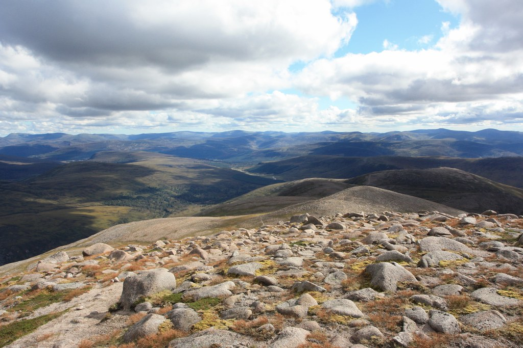 Southeast from Derry Cairngorm