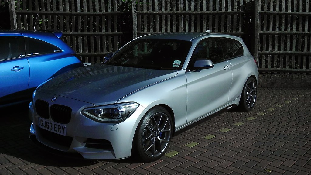 Oem BMW Wheels >> BBS SR wheels on M135i with Pics (More pics now added ...