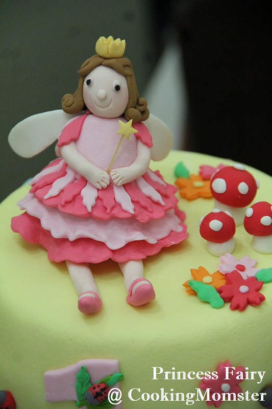 Princess Fairy Cake b