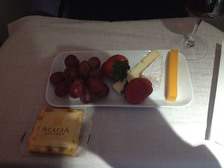 Desert course on flight