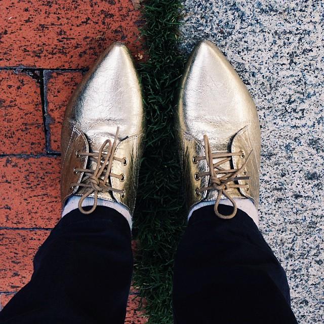 Urban lawn. #ThisPostIsReallyAboutMyShoes