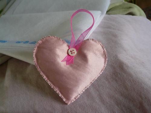 Pink skirt heart