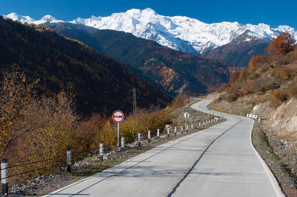 The road to Svaneti