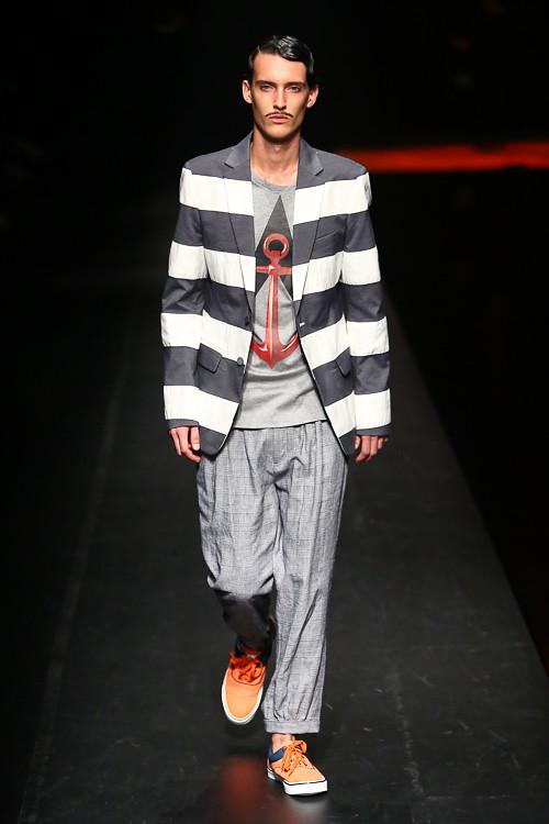 Dzhovani Gospodinov3087_SS14 Tokyo yoshio kubo(Fashion Press)