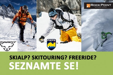 Skialpinismus? Skitouring? Freeride? Seznamte se!