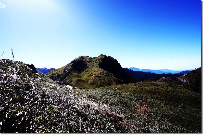 卡賀爾山(北向南望) 2