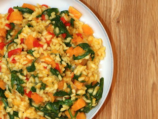 Butternut Squash & Spinach Risotto