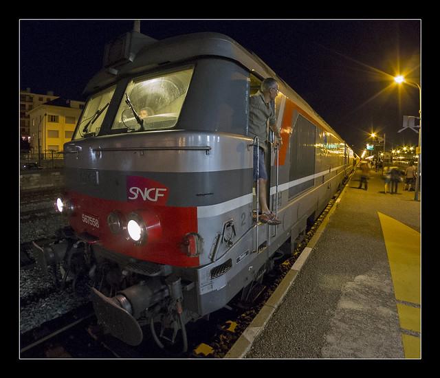 Intercits Paris Austerlitz Brianon Ligne de nuit SNCF
