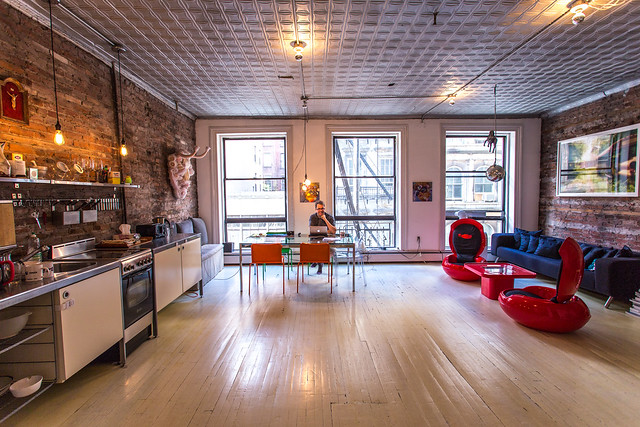 Our New York Airbnb apartment in Tribeca