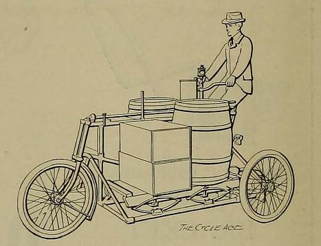 Pope Cargo Trike Detail