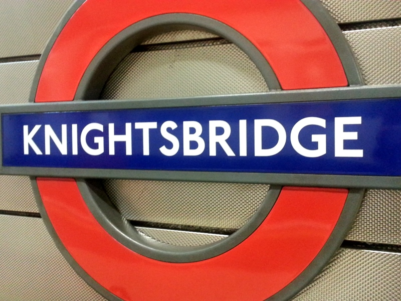 Knightsbridge Tube Station
