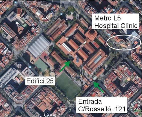 Plano Barcelona