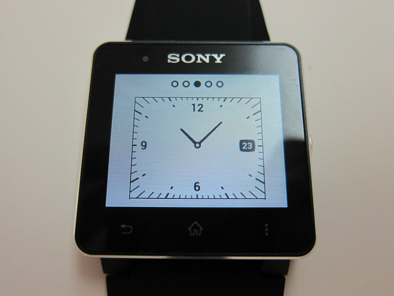 Sony SmartWatch 2 - Watch Face #3