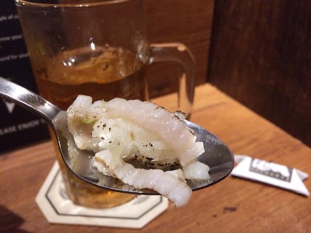 Flat Fish Sushi, Omakase @ Teppei