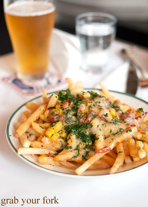 Lobster fries at House of Crabs, Norfolk Hotel, Redfern