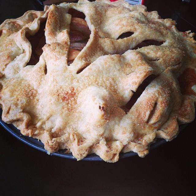 My apple pie #fav