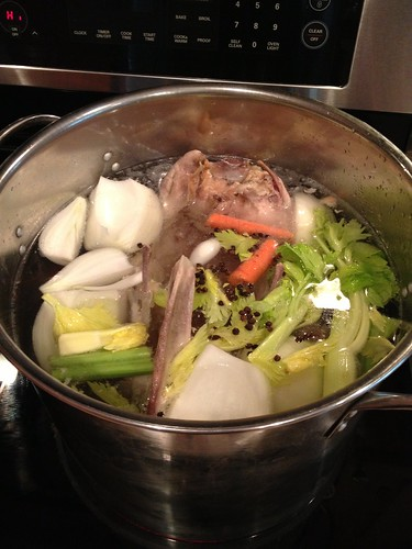 Homemade Turkey Broth