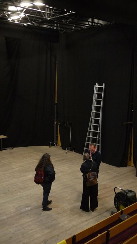 Préparations au théâtre Montfort, Paris
