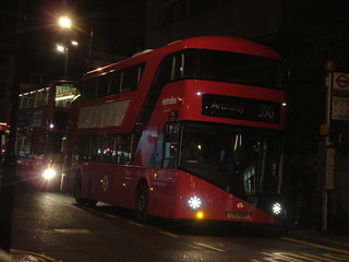 Metroline LT97 on Route 390, Notting Hill Gate