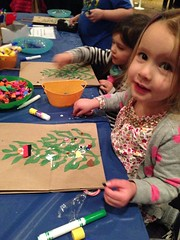 craft time at christmas tree forest