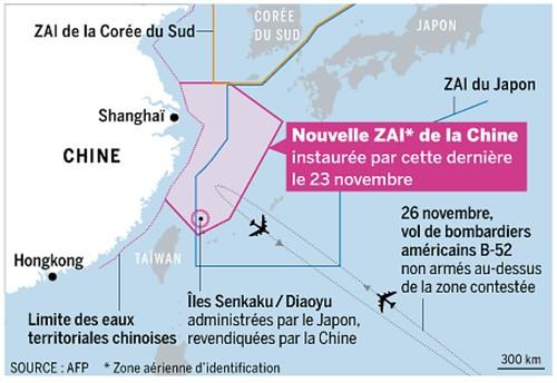 ADIZ chine-japon-corée du sud