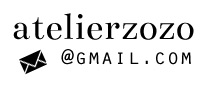 email me atelierzozo[at]gmail[dot]com