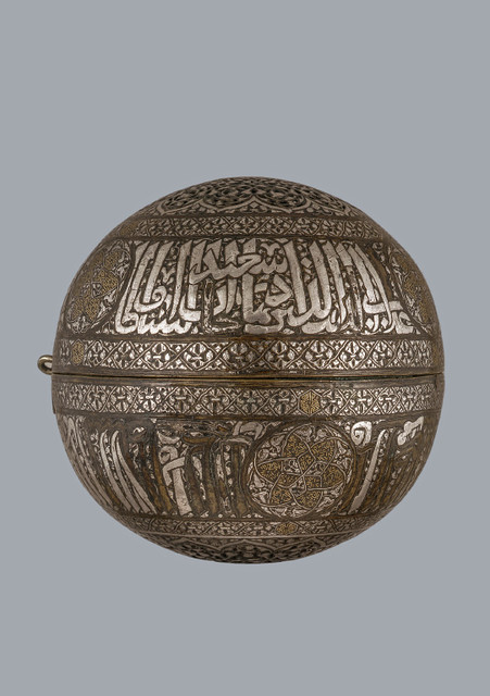 9  Courtauld Court and Craft - Spherical incense burner Bargello (2).jpg