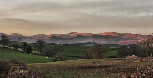 trees panorama mountains sunrise landscape snowdonia graig northwales earlymorninglight glanconwy bbcwalesnature ashperkins