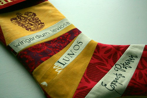 Gryffindor Xmas Stocking
