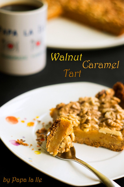 Walnut Caramel Tart (6)