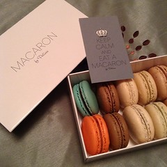 Of course I did. #macarons