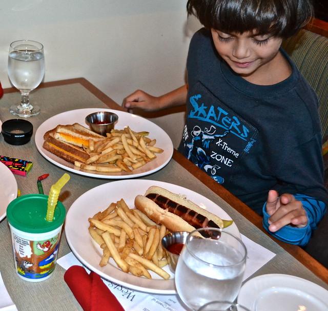 kids menu at west 82 bar and grill crystal river fl